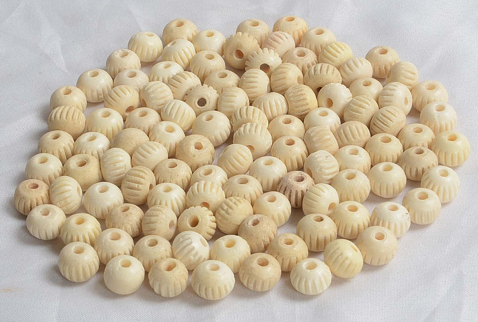 bone-and-horn-beads