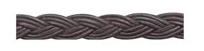 Round Leather Braided Cord
