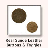 Leather Buttons & Toggles